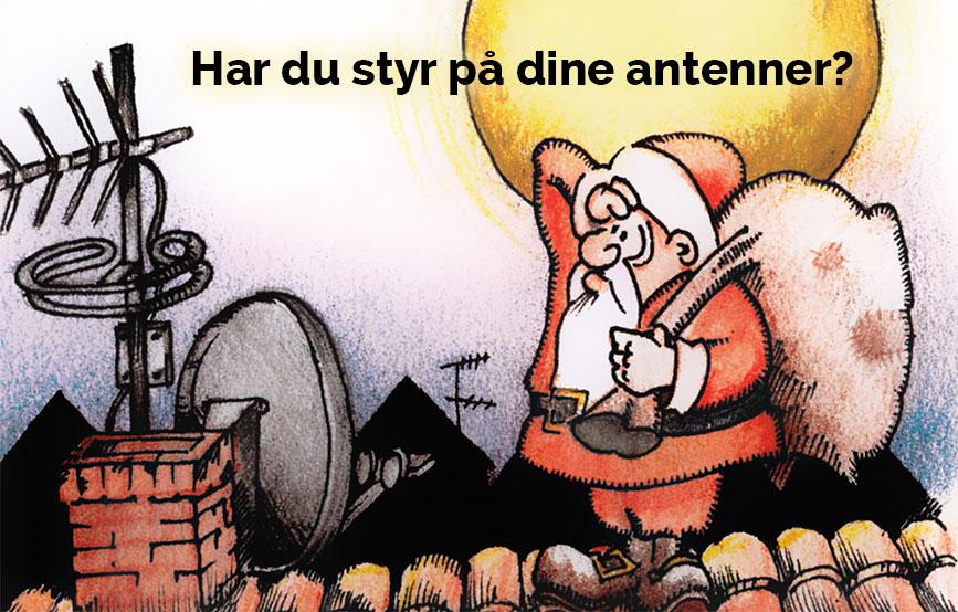 Antenne julemand