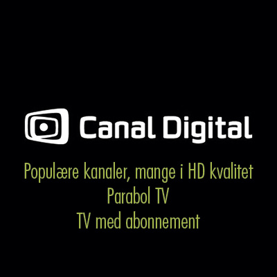 Canal Digital Tv Pakker