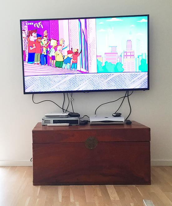 TV Kabel Rod Før