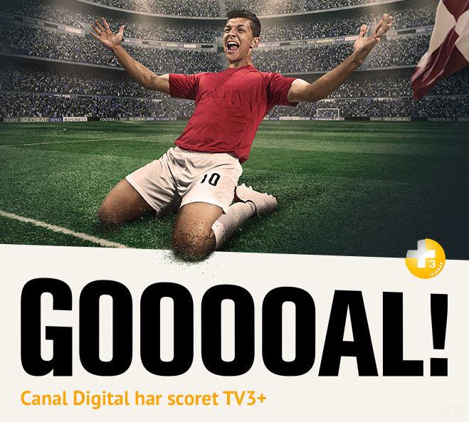 TV3+ nu på Canal Digital